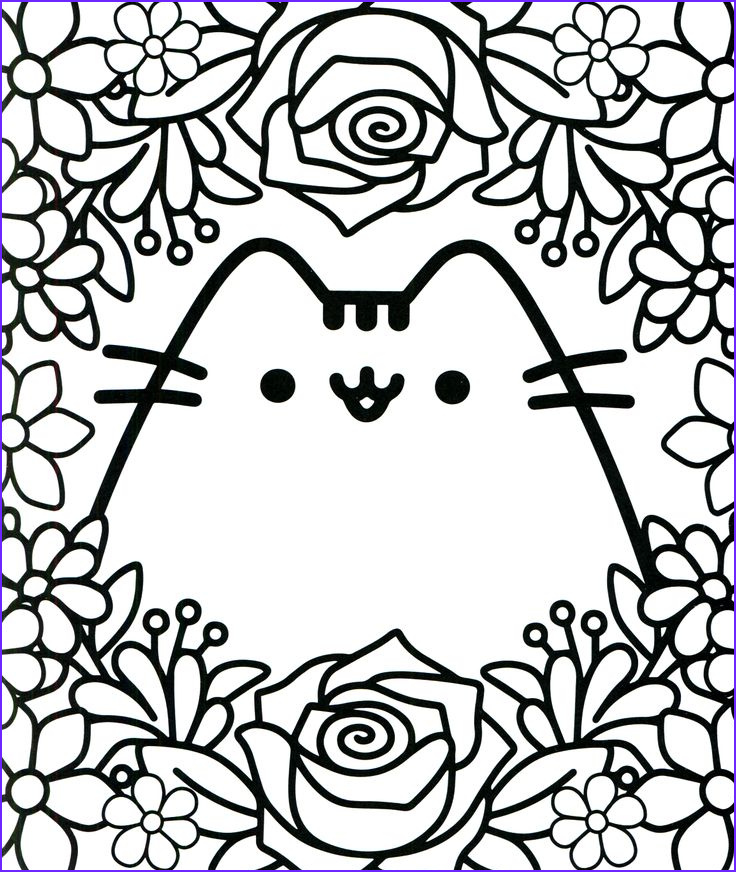 Cat Coloring Books Beautiful Collection Pusheen Coloring Book Pusheen Pusheen the Cat