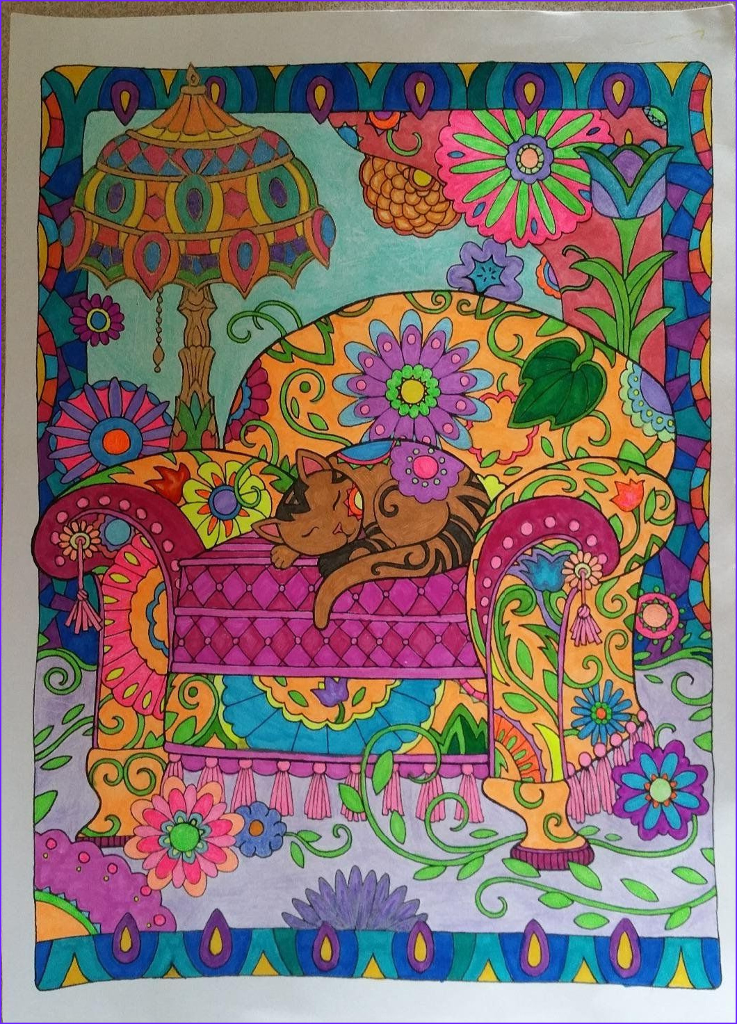 Cat Coloring Books Cool Photos Creative Haven Creative Cats Coloring Book Creative Haven