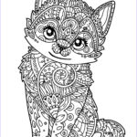 Cat Coloring Books Inspirational Photos Cute Kitten Cats Adult Coloring Pages