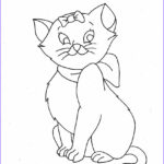 Cat Coloring Pictures Elegant Images Free Printable Cat Coloring Pages For Kids