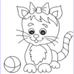 Cat Coloring Pictures Elegant Stock Free Printable Cat Coloring Pages For Kids