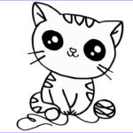 Cat Coloring Pictures New Photos How To Draw Cat Coloring Pages For Kids Cute Cat Eyes