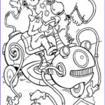 Cat In The Hat Coloring Awesome Image The Cat In The Hat Cleaning Machine Coloring Page Color Luna