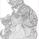 Cats Adult Coloring Books Luxury Images Bestadultcoloringbooks