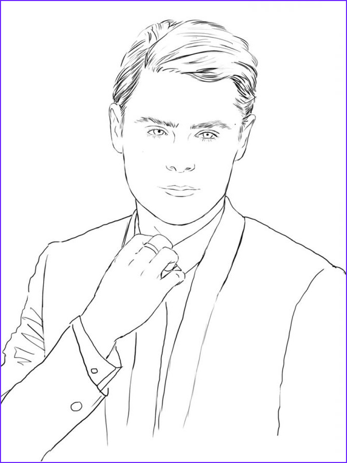 Celebrity Coloring Book Best Of Photos Zac Efron A Look at the Color Me Swoon Coloring Book