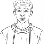 Celebrity Coloring Book Cool Image Jaden Smith Celebrity Coloring Pages Printable