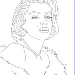 Celebrity Coloring Book Luxury Photos Marylin Monroe Coloring Pages Hellokids