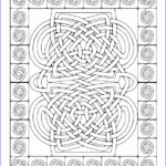 Celtic Coloring Book Awesome Photography Celtic Mosaics Coloring Book