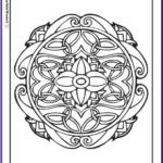Celtic Coloring Book Beautiful Collection 90 Celtic Coloring Pages Irish Scottish Gaelic