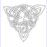 Celtic Coloring Book Beautiful Collection Celtic Coloring Triangle Iv By Artistfire On Deviantart