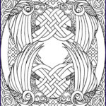 Celtic Coloring Book Beautiful Images 92 Best Celtic Coloring Pages For Adults Images On