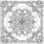 Celtic Coloring Book Beautiful Stock Coloring Pages Celtic Designs Adult Coloring Book Stress