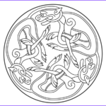 Celtic Coloring Book Best Of Photos Celtic Ornament Design From Book Of Kells Coloring Page