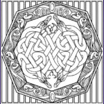 Celtic Coloring Book Cool Photos 94 Best Celtic Coloring Pages For Adults Images On