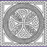 Celtic Coloring Book Inspirational Gallery Free Printable Celtic Cross Patterns