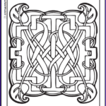 Celtic Coloring Book New Photography 90 Celtic Coloring Pages Irish Scottish Gaelic