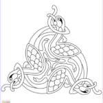Celtic Coloring Pages Awesome Photos Celtic Design Coloring Page