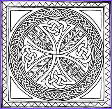 Celtic Coloring Pages Beautiful Photos Free Printable Celtic Cross Patterns