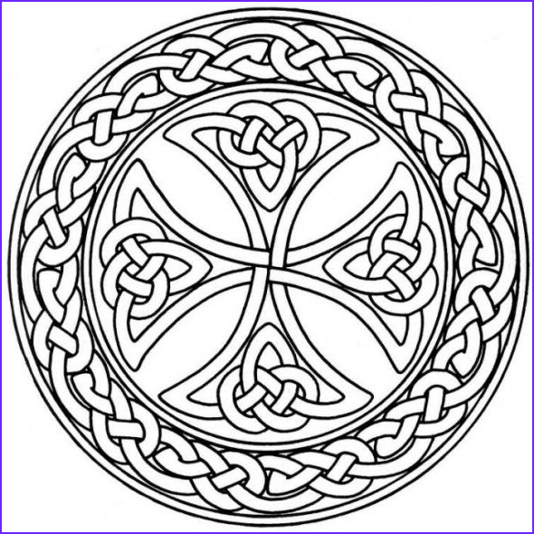 Celtic Coloring Pages Best Of Collection Mandala Monday Free Celtic Mandalas to Color