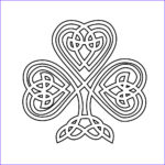 Celtic Coloring Pages New Image Free Printable Shamrock Coloring Pages For Kids