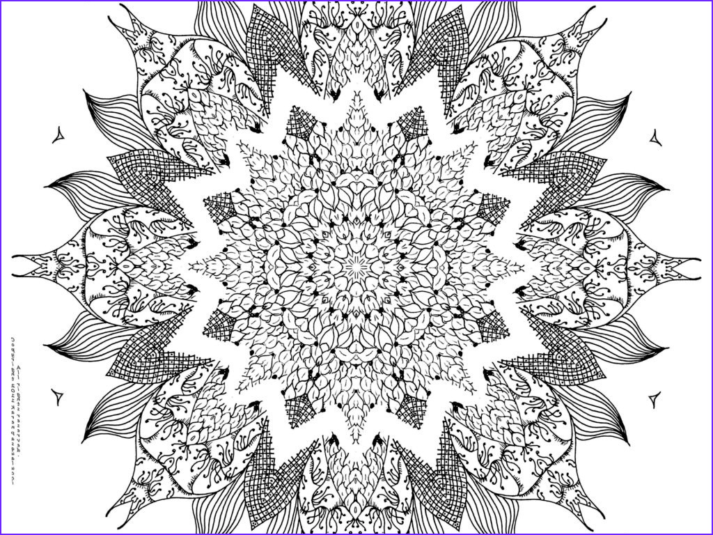 Challenging Coloring Pages for Adults Beautiful Image Free Mandala Designs to Print Classic Style Free Mandala