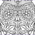 Challenging Coloring Pages for Adults Elegant Stock Georgia Coloring Pages Coloring Pages
