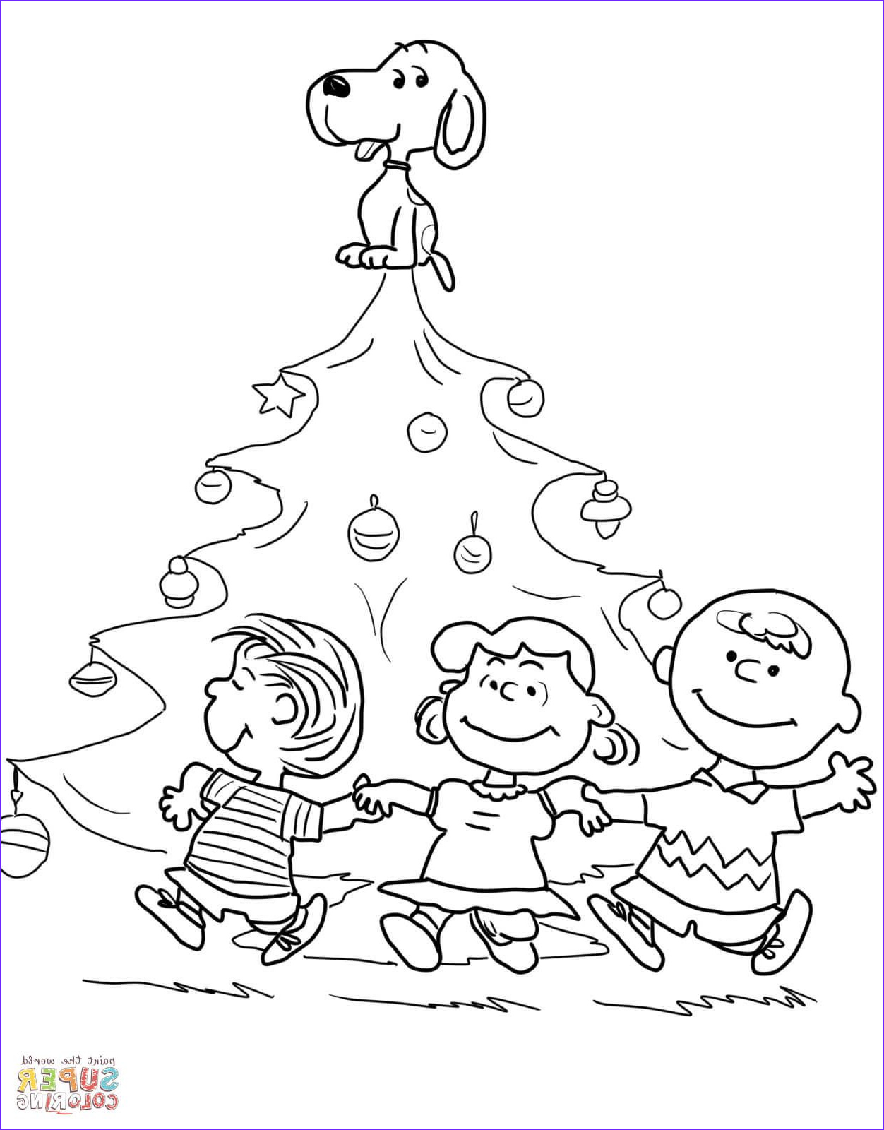 Charlie Brown Coloring Pages Awesome Gallery Charlie Brown Christmas Tree Coloring Page