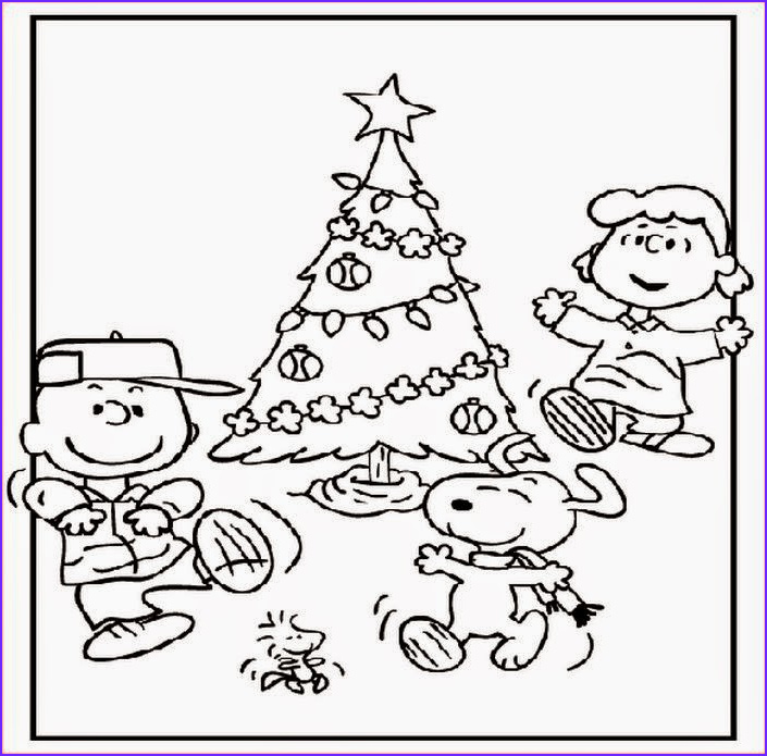 free printable charlie brown christmas coloring pages kids