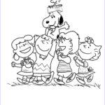 Charlie Brown Coloring Pages New Gallery Peanuts Gang Coloring Page