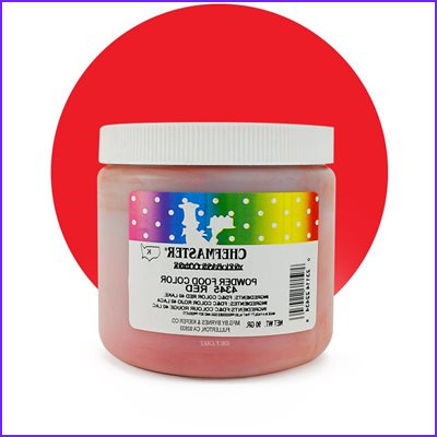 red pwder candy color by chefmaster 90 grams cfp4345