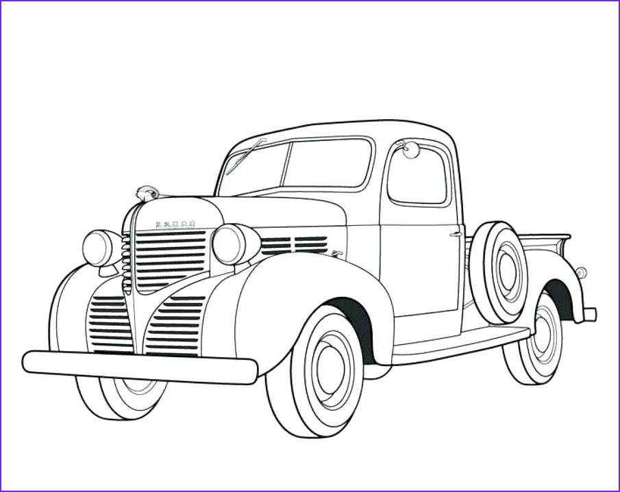 Chevy Coloring Pages Beautiful Collection Chevy Silverado Coloring Pages at Getcolorings