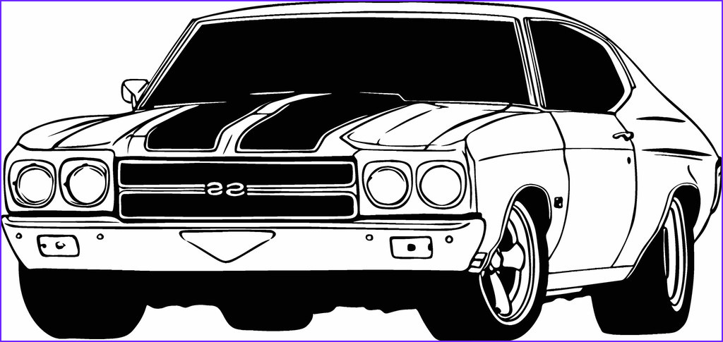 Chevy Coloring Pages Inspirational Collection Chevy Chevelle Coloring Pages Printable