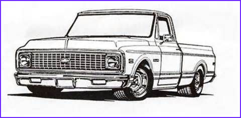 Chevy Coloring Pages Inspirational Photos 72 Chevy Truck Colouring Pages Images