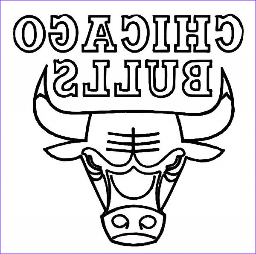 chicago bulls printable coloring pages