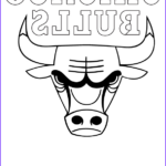 Chicago Bulls Coloring Pages Beautiful Images Bull Printable Coloring Pages Coloring Home