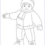 Child Coloring Pages Cool Photos Winter Dress Coloring Pages