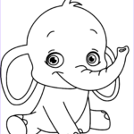Child Coloring Pages Luxury Collection Baby Elephant Kids Coloring Pages Printable