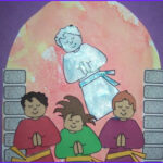 Children's Church Coloring Pages Beautiful Photos Fiery Furnace Shadrach Meshach Abednego Craft for Vbs