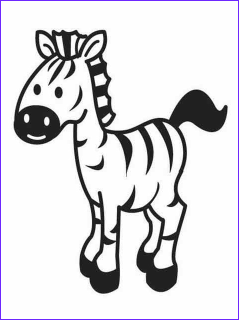 Childrens Coloring Pages Awesome Photos Kids Page Zebra Coloring Pages