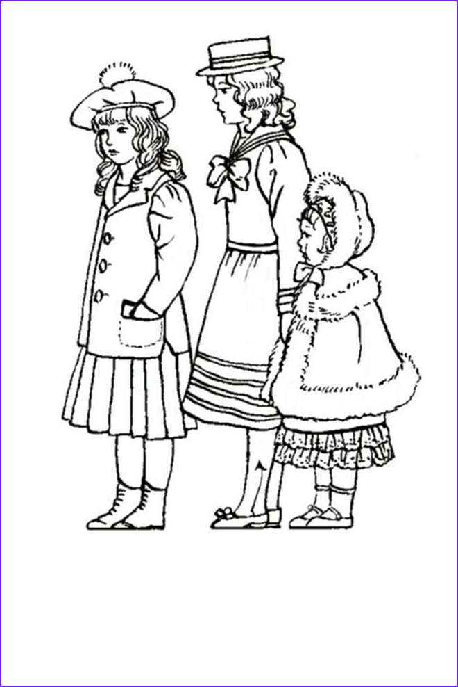 Childrens Coloring Pages Beautiful Images Children In C20th Costume History 1900 1910 Edwardian