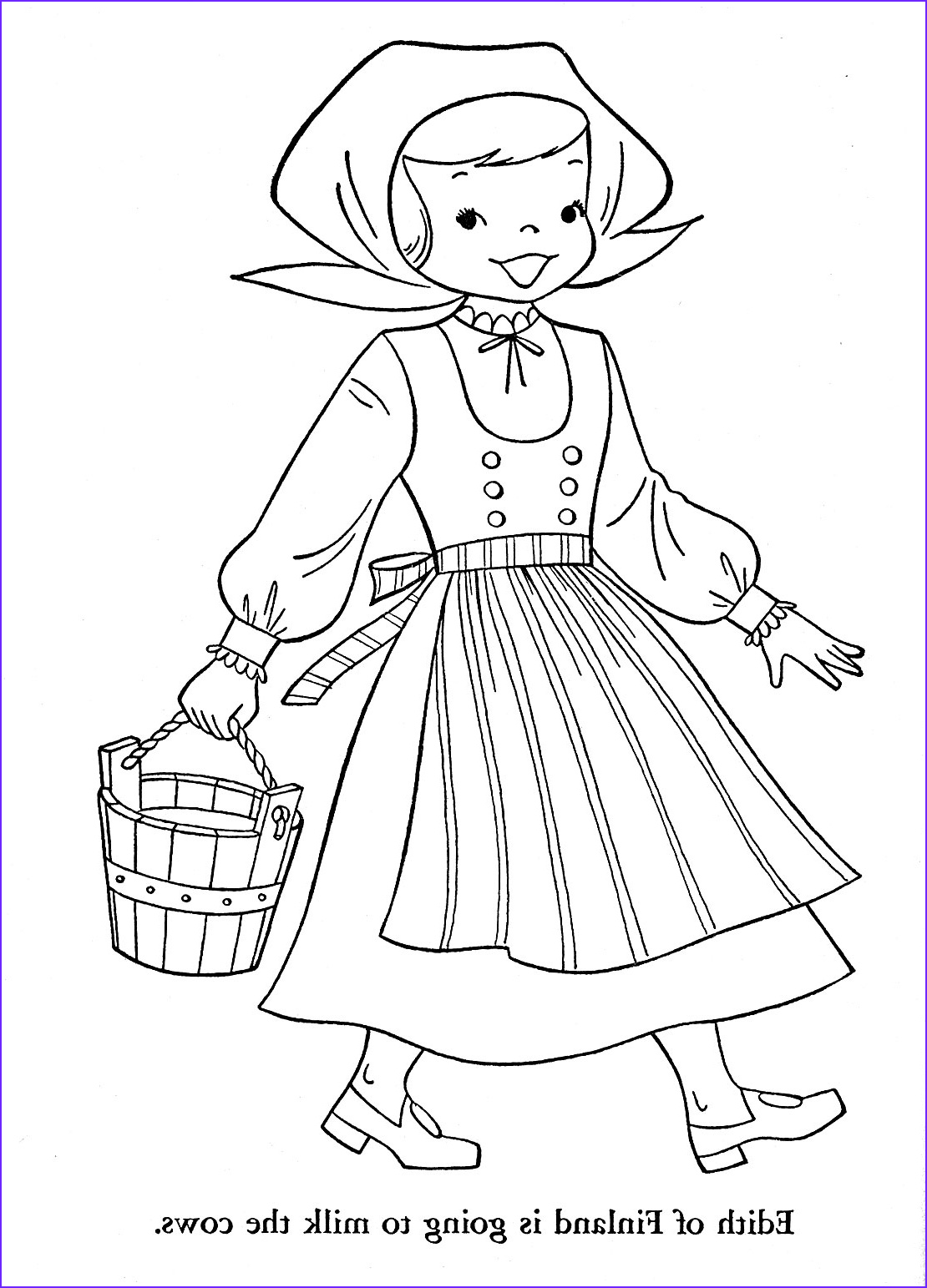 Childrens Coloring Pages Cool Collection Children Of Other Lands 1954 – Belgium Spain Portugal