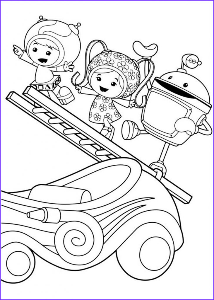 Childrens Printable Coloring Pages Beautiful Photography Free Printable Team Umizoomi Coloring Pages for Kids