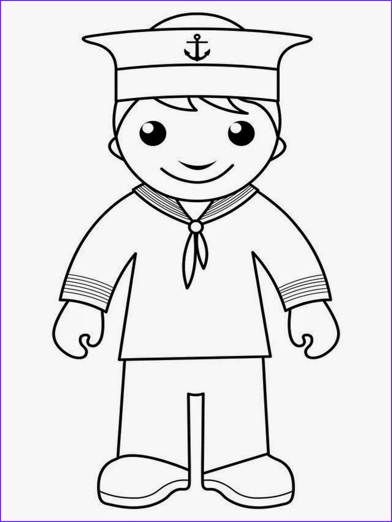 Childrens Printable Coloring Pages Beautiful Photography Sailor Coloring Pages