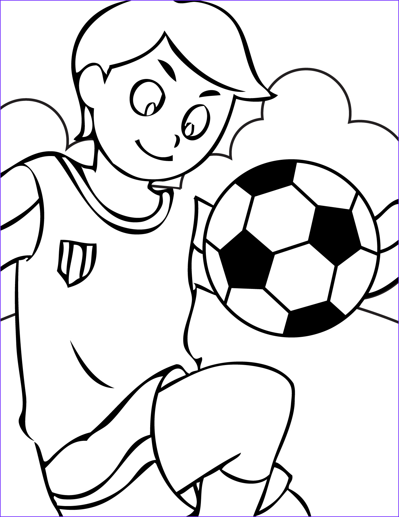 Childrens Printable Coloring Pages Inspirational Stock soccer Coloring Pages 5