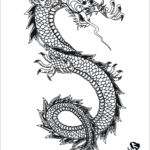 Chinese Dragon Coloring Pages Awesome Stock Chinese Dragon Coloring Page
