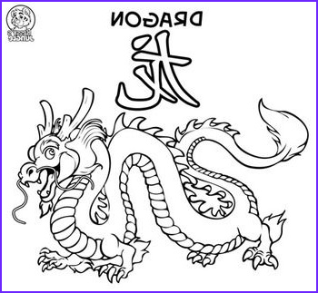 Chinese Dragon Coloring Pages Elegant Collection Chinese Dragon Coloring Page