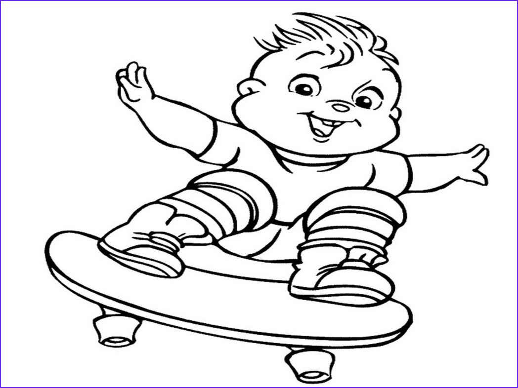 Chipmunk Coloring Pages Inspirational Photography Alvin and the Chipmunks Coloring Page