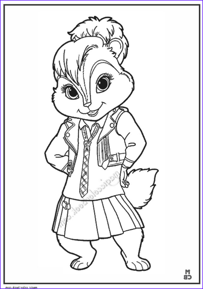 Chipmunk Coloring Pages Inspirational Photos 28 Best Alvin and Chipmunks Coloring Pages Images On