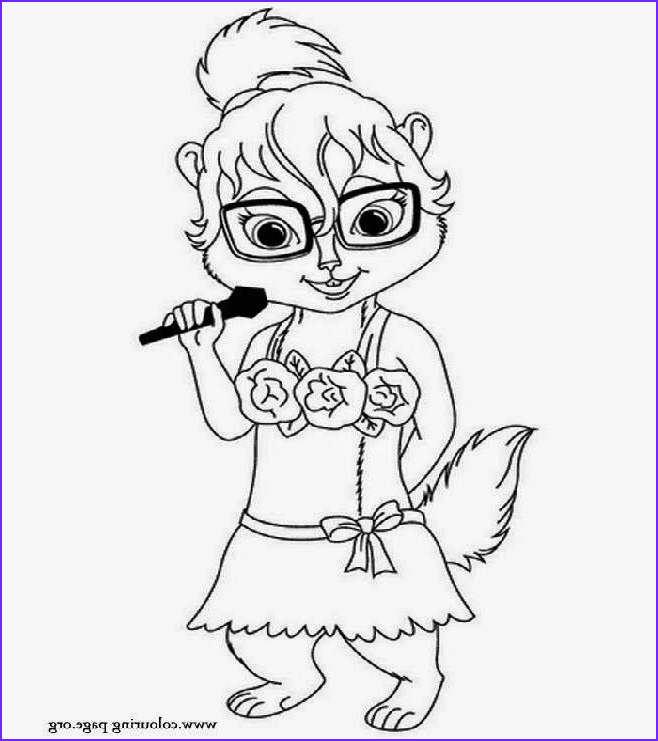 Chipmunk Coloring Pages New Photos Chipette Eleanor Coloring Pages Coloring Home