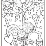 Chocolate Coloring New Images Candy Coloring Page Young Rembrandts Shop